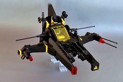 "NBT GP/sfcr9k04 ""The Ash`tah`"" (Chiefrocker9000) Tags: fighter lego space slug glug moc nbt starfighter blacktron legospace swisslug neoblacktron"