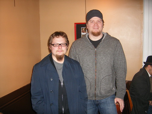 Me and  Jeph Jacques