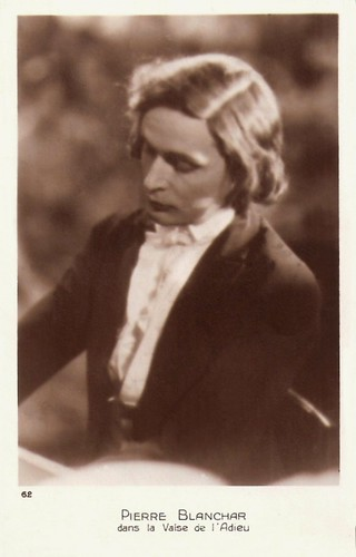 Pierre Blanchar as Chopin