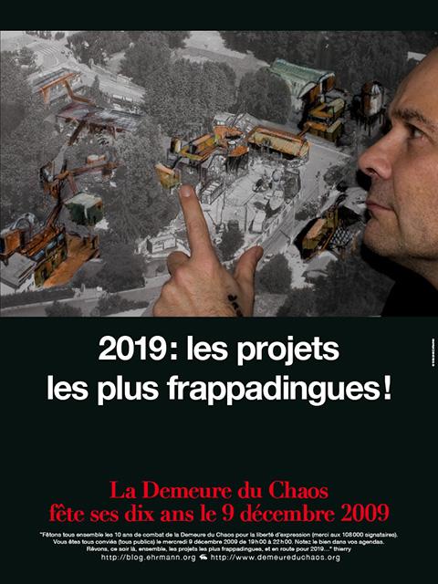 La Demeure du Chaos en route pour 2019