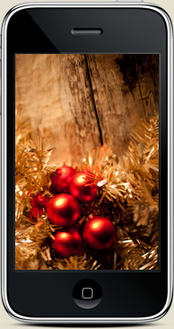 Free iPhone Wallpapers December Holiday Christmas 2009