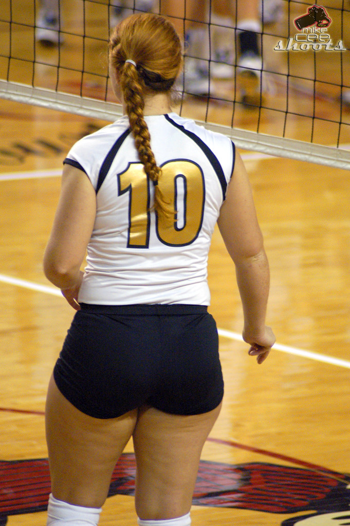 phat butt volleyball players