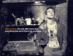 Fight Club (LoveVickyx) Tags: life film movie quote movies bradpitt fightclub tylerdurden edwardnorton