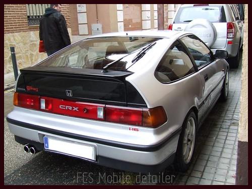 Honda CRX Gris Plata-71