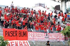 Paserbumi Beraksi di Stadion Benteng Tangerang