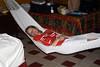 Cindy in the Hammock at Luz en Yuc…