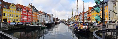 Panorama: Nyhven, Kopenhaga