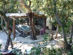 Presqu'île de Campo Mezzano : l'ancienne paillote