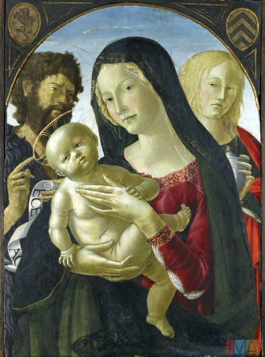 Madonna and Child with St. John the Baptist and St. Mary Magdalene