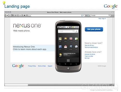 Nexus One Venta