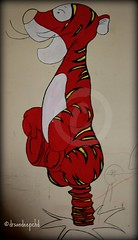 Hand made tiger (drsandeepchd) Tags: cameraphone desktop blue girls red wallpaper portrait orange sun india white lake colour reflection tree green art love nature water beautiful beauty birds yellow festival architecture clouds sunrise canon landscape evening photo amazing twilight scenery colorful colours image dusk indian sony great culture award highdefinition impressed punjab dslr lecorbusier canonet chandigarh sukhnalake cfc verma sukhna kanav 400d terraceclouds sandeepverma terracedusks drsandeepchd