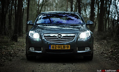 The Insignia Project.. (Luuk van Kaathoven) Tags: auto car forest project photography nikon automotive front turbo 20 van insignia opel luuk d80 luukvankaathovennl kaathoven