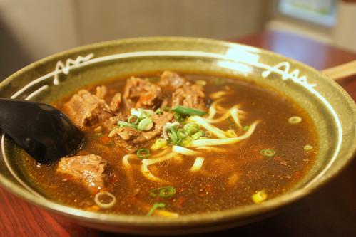 Beef Noodle Soup (牛肉麵)