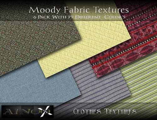 - Ainoo Clothes textures-Moody Fabric by Ainoo By Alexx Pelia