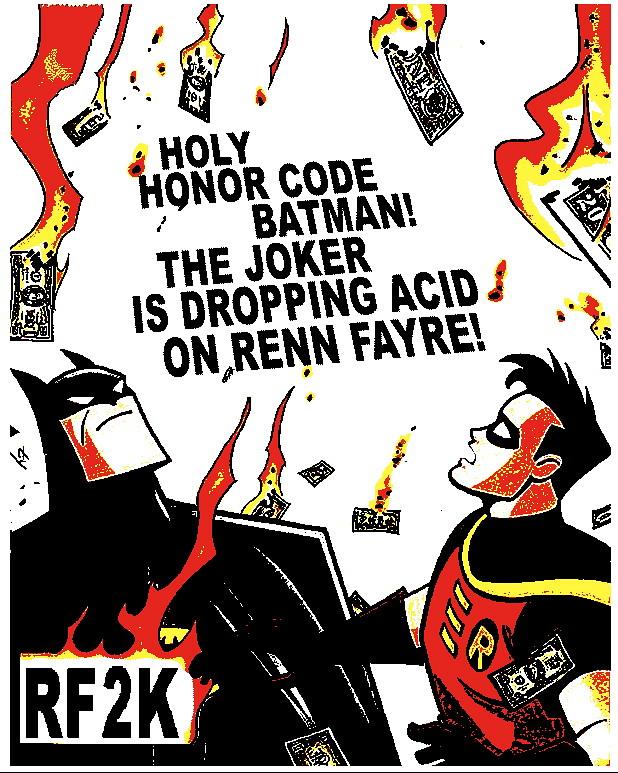 Holy Honor Code (Renn Fayre, 2K)
