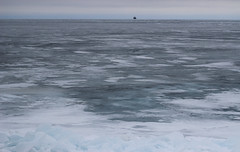 frozen Lake Michigan (kkurtz) Tags: winter chicago ice nature water canon 50mm lakemichigan lakefront nationalgeographic t3i chicagoist canont3i