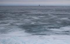 frozen Lake Michigan (kkurtz) Tags: winter chicago ice nature water canon 50mm lakemichigan lakefront nationalgeographic t3i chicagoist canont3i