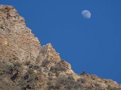 Canyon Moonrise (Rick Bolin) Tags: moon photography utah photographer photos canyon moonrise phot 43 ogdenut canonfd75200mmf45 microfourthirds rickbolin jeffersoncanyon