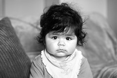 I Can See You!!! (marinasantos6) Tags: olivia ojos eyes blackandwhite amor love naturallight light portrait face niños children bebe niña girl baby canon5dmarkii canon85mm canon