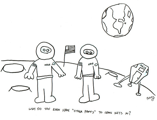 366 Cartoons - 149 - Astronauts