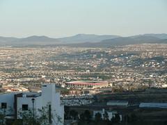 Queretaro, Mexico (jdleon) Tags: mexico queretaro estadio acueducto montaas