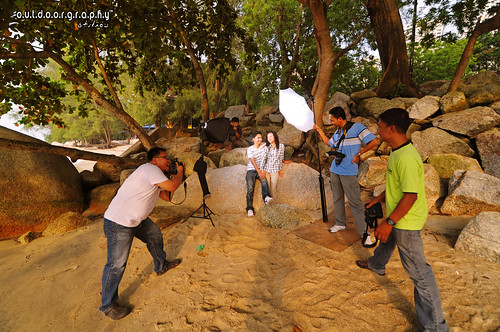 BTS : Hafiz & Not Photoshoot (by Sir Mart Outdoorgraphy™)
