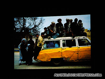 Look at how many people they managed to fit into the car