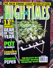 Cameron Makes The Cover Of High Times Magazine