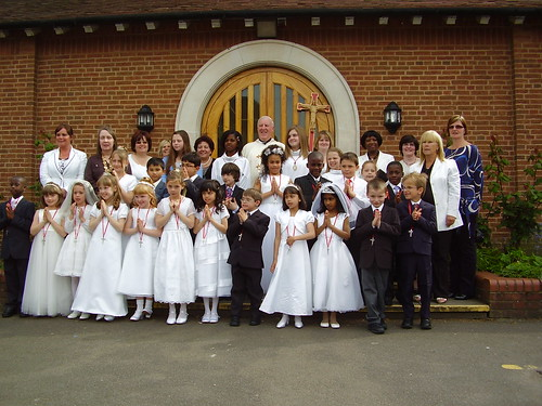 First Communion May 2009.