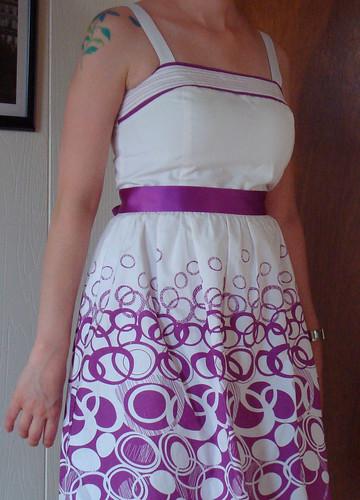 circles dress 2