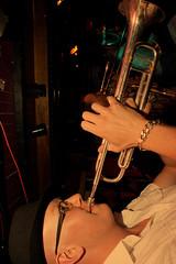 The Flange Band (Mr Bultitude) Tags: party music love night nathan joy horns trumpet belfast alcohol soul booze laughter mcgreevy simpson brendan flange goodtimes licks craic motown mrbultitude theflangeband mchughesbar
