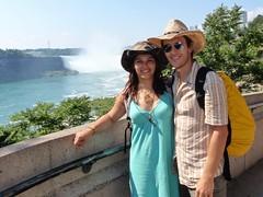 Nico et Nat à Niagara