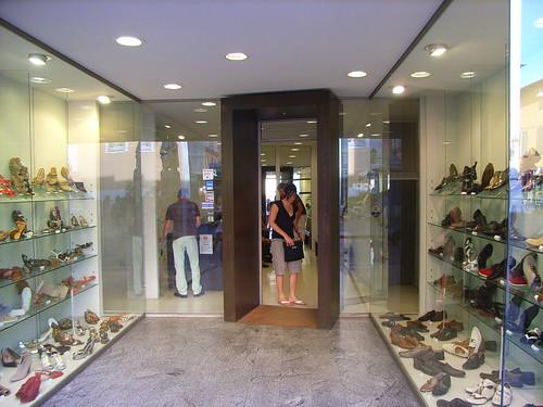 Shoestore in Pisa, Italy