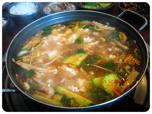 Countryside Sundubu (Spicy Silken Tofu Soup)