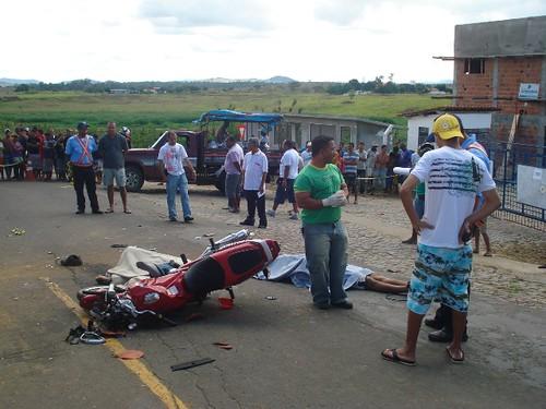 Acidentes com três vítimas fatais, neste domingo, em 16-08-09... 033 por você.