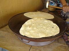 sacda ekmek