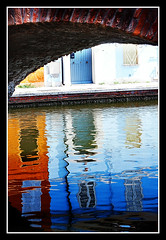 Ruler of the Crystalline Two (zerantuno) Tags: bridge italy reflection water nikon italia ponte emilia acqua riflesso comacchio photographia d80 zerantuno casoni platinumphoto excellentphotographerawards