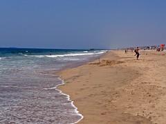 hermosa beach (angelynes) Tags: beach sand waves hermosabeach
