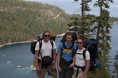 Michael, Benoit, Werner and Emerald Bay (Emerald Bay, California, United States) Photo