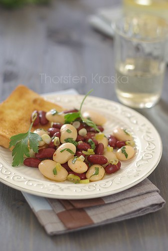Easy Lunch: bean salad