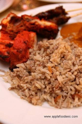 Nasi Dagang and Tandoori Chicken