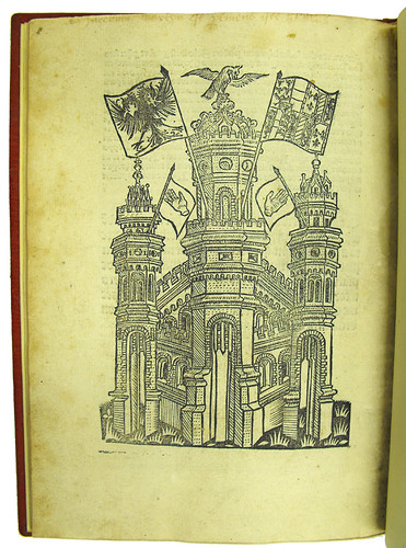 Woodcut printer's device in Garlandia, Johannes de [pseudo-]: Composita verborum
