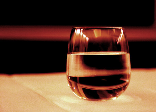 Water Glass- good drink for health (fhandelman@flickr)