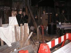 Bombed street, RAF Museum (cjdhall) Tags: london museum ww2 blitz raf hendon