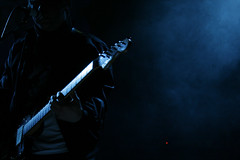 Lukestar VI (Alex Worren) Tags: blue music guitar live negativespace lukestar