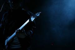 Lukestar VI (Alex Worren) Tags: blue music guitar live negativespace lukestar