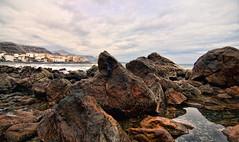 El Altillo (aerferaer) Tags: sea grancanaria clouds mar spain rocks tokina1224 nubes beachs canaryislands playas rocas islascanarias elaltillo santamaradegua nikond300
