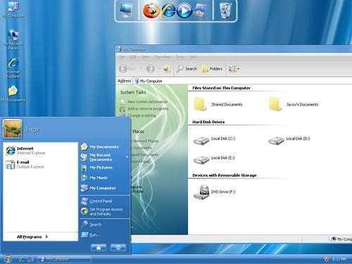 3919811160 859eb1e49c Windows 7 And Vista Themes / Visual Styles For Windows XP
