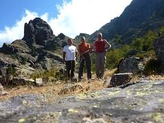 Les protagonistes de cette aventure aux bergeries de Scaffone