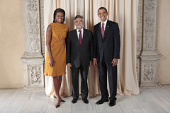 U.S. President Barack Obama and First Lady Michelle Obama With World Leaders at the Metropolitan Museum in New York (U.S. Department of State) Tags: usa ny newyork portugal president whitehouse michelle unitednations obama firstlady amado generalassembly barackobama unga michelleobama